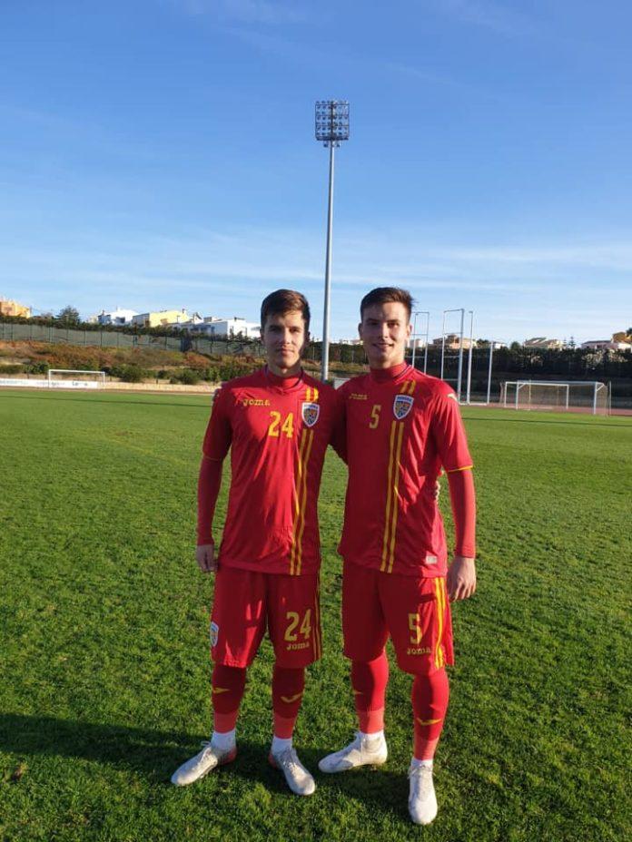 Marian Danciu (stânga) şi Ionuţ Mitran vor evolua din nou sub tricolor