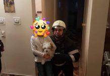 Un copil de 7 ani blocat în apartament, la etajul 4, salvat de pompieri