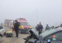 Accidentul de pe pe DJ 561D s-a soldat cu doi morţi şi şapte persoane rănite