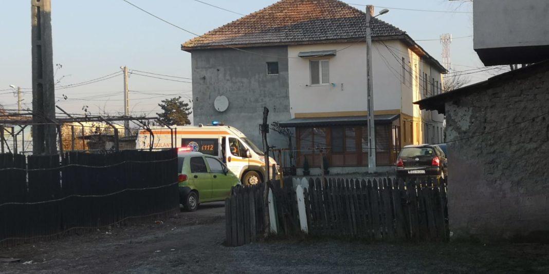 Casa în care au murit cei doi tineri
