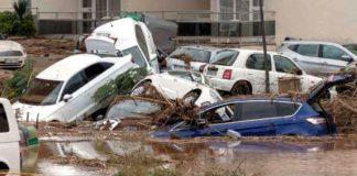 O româncă a decedat în urma unei furtuni care a afectat estul Spaniei