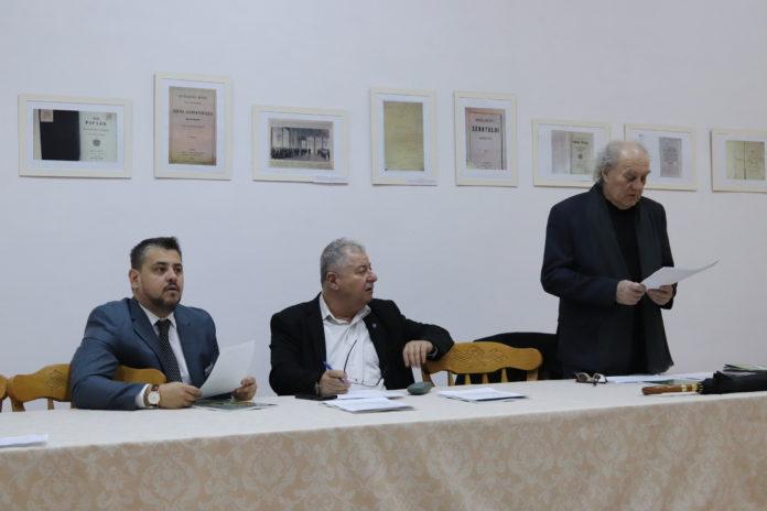 Directorii au avut ședința a Muzeul Județean