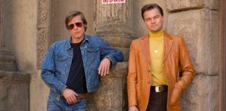 """Brad Pitt şi Leonardo DiCaprio în pelicula """"Once Upon a Time in Hollywood,"""" filmul lui Quentin Tarantino"""