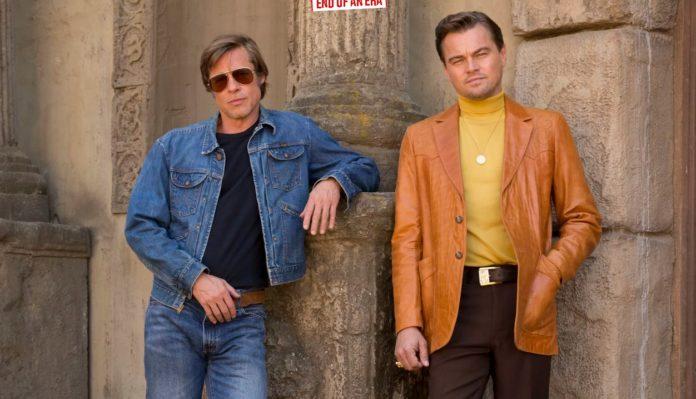"Brad Pitt şi Leonardo DiCaprio în pelicula ""Once Upon a Time in Hollywood,"