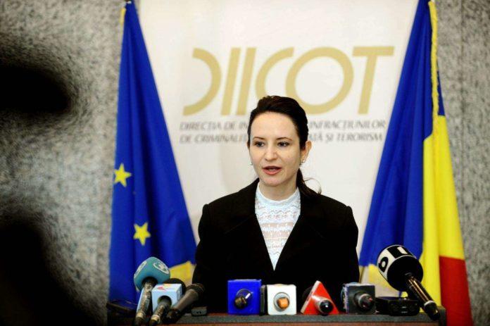 Giorgiana Hosu, propusă la şefia DIICOT