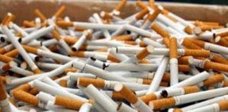 Contrabandă cu ţigări într-o piaţă din Craiova