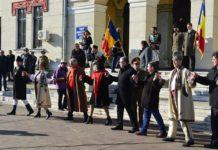 Unirea Principatelor Române din 1859 a fost celebrată, vineri, la Târgu Jiu, printr-o serie de manifestări cultural-artististice