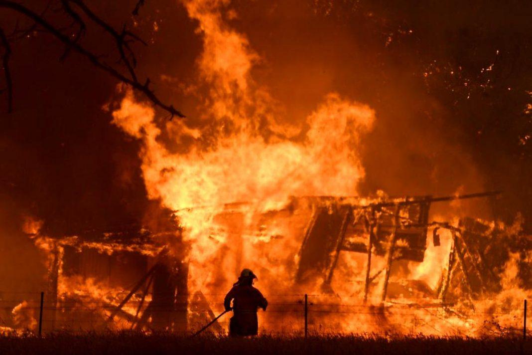 Incendii, în Australia