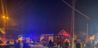 Incendiu la o locuinţă din Târgu Jiu