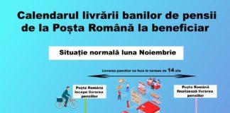 Pensionarii îşi vor primi drepturile băneşti în intervalul 10-20 ianuarie