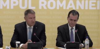 Klaus Iohannis și Ludovic Orban discută despre alegerile anticipate