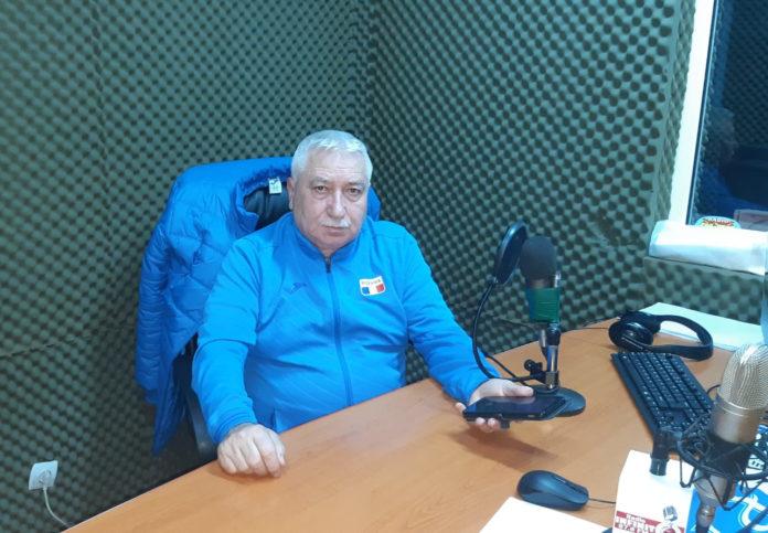 Ion Bură este optimist în privinţa primului turneu de sală (Foto: Radio Infinit)