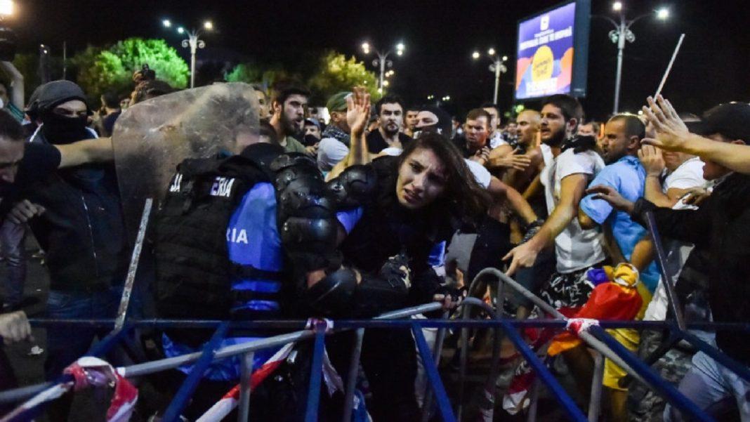 Foto: Playtech / Viorica Dăncilă, nemulțumită de sentința în cazul jandarmeriței de la protestul din 10 august