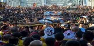 """Sute de răniţi la procesiunea """"Iisus cel Negru"""""""
