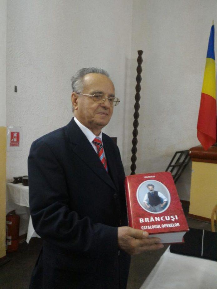 Brâncușologul Ion Mocioi va devenit Cetățean de Onoare al orașului Târgu Jiu