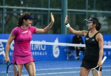 Monica Niculescu şi Misaki Doi au ieşit învingătoare de pe teren după prima bătălie de la Melbourne (Foto: treizecizero.ro)