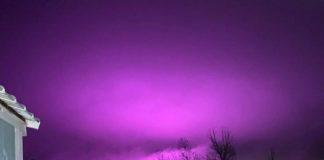 Cerul a devenit mov în Arizona