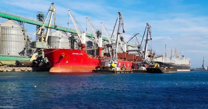 Porturile maritime românești, trafic record de mărfuri în 2019