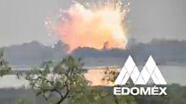 Explozie la un depozit pirotehnic din Mexic
