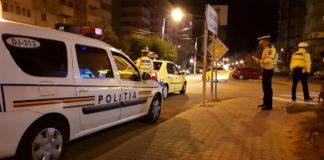 Poliţiştii spun că au încercat să oprească autoturismul pe strada Nicolae Iorga