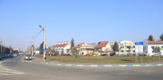 """Spaţiul din faţa Parcului """"Nicolae Romanescu"""" unde se doreşte realizarea unei parcări supraetajate"""