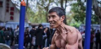 Qiu Jun, unul dintre cei mai cunoscuti bodybuilderi din China