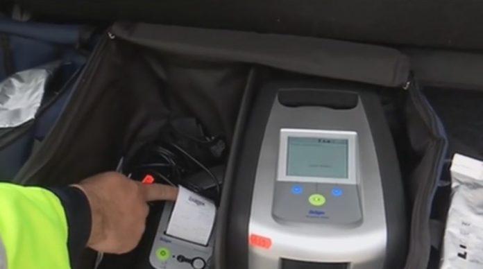 Șofer, depistat pozitiv la Drug Test