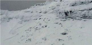 Risc de avalanşă în munţii Făgăraş - a avut loc o avalanşă mare la Bâlea