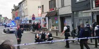 Poliţia belgiană a împuşcat o femeie care a atacat cu un cuţit două persoane