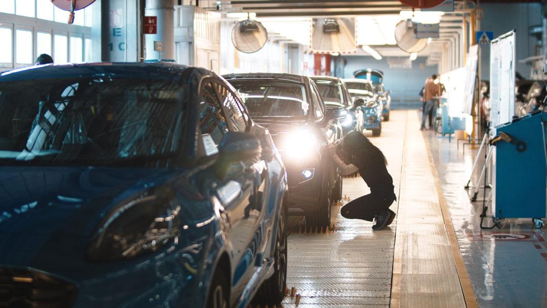 Ford Puma in fabrica