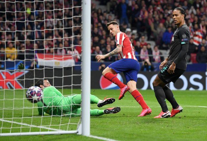Saul a făcut diferenţa în meciul tur cu Liverpool (Foto: uefa.com)