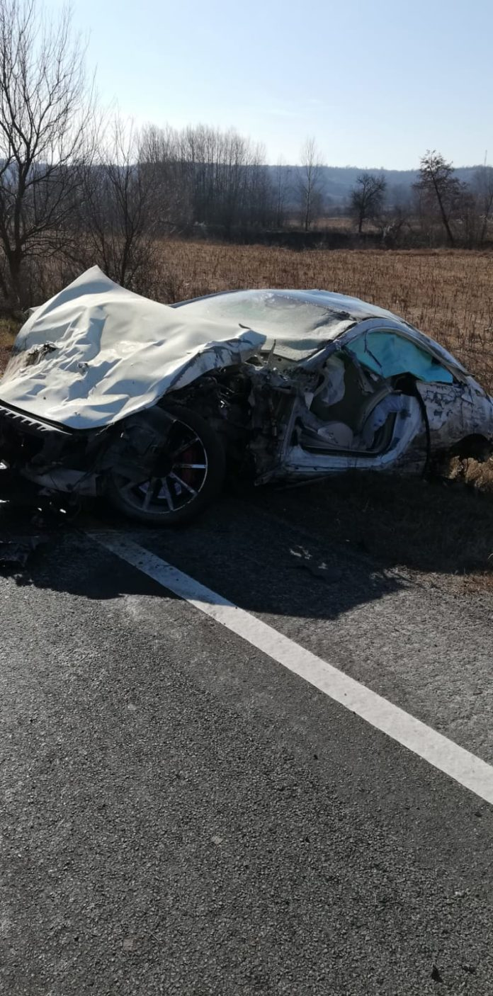 Accident mortal pe DN6