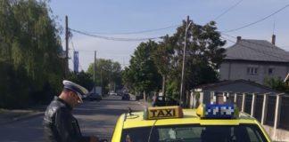 Poliţiştii susţin că taximetristul şi-a ameninţat clienţii cu un spray iritant-lacrimogen