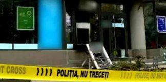 Bancomat aruncat în aer la un hotel din Sinaia