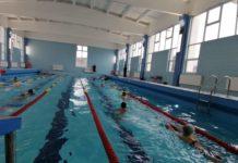 """Bazinul de înot de la Colegiul """"Carol I"""", la a doua deschidere oficială"""