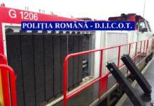 Locomotivele francezilor, dezmembrate de hoţi din Olt şi Vâlcea