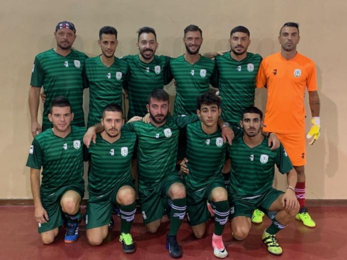 Grigore Popescu (stânga sus) era legitimat de echipa de futsal A.S.D. Arzachena 2015