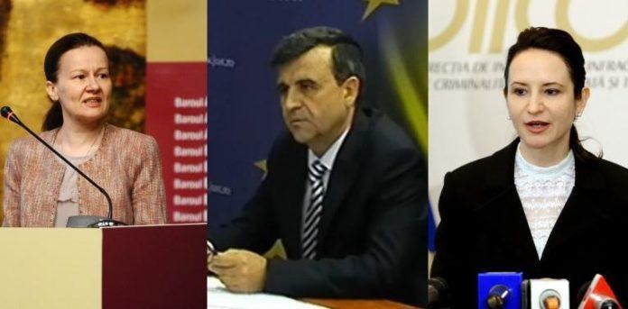 Iohannis îi numește la șefia Parchetelor pe Gabriela Scutea, Giorgiana Hosu și Crin Bologa ( foto: agerpres)