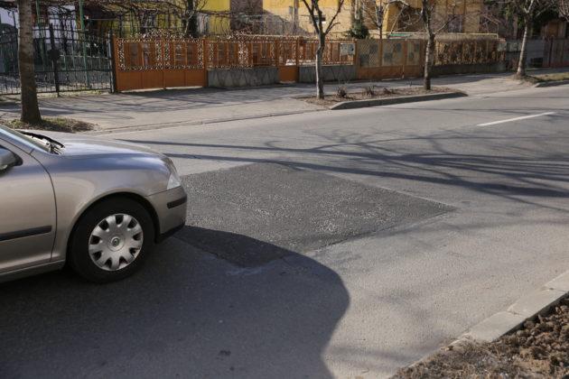 Plomba turnată pe bulevardul Gheorghe Chiţu