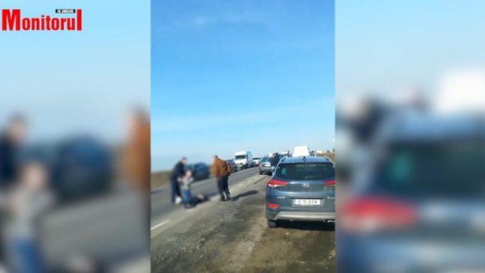 Un fost prefect de Suceava a accidentat un bărbat