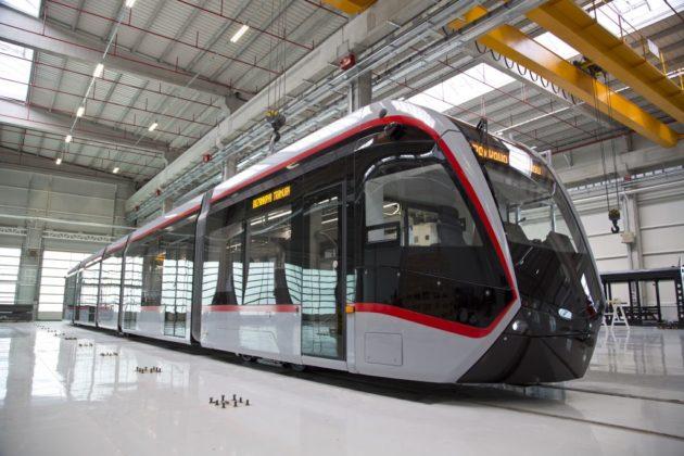 Tramvaiul produs de firma Bozankaya