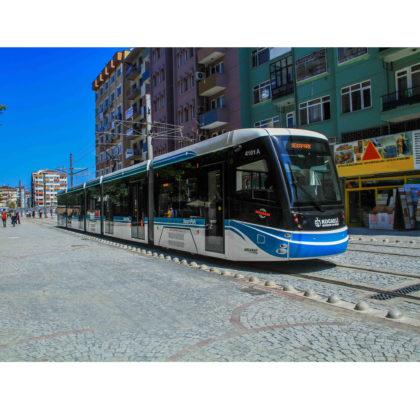Tramvaiul produs de firma Durmazlar Makine