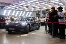 Fabrica Tesla din Shanghai