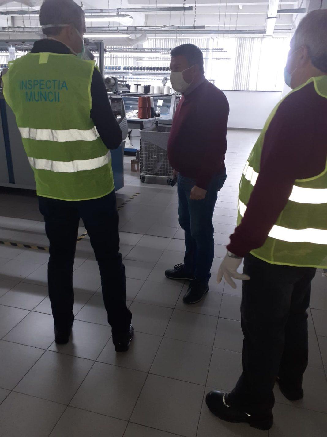 ITM, în control la o fabrică de confecții din Motru