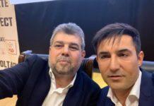 Marcel Ciolacu şi Claudiu Manda au anunţat că nu vor vota Guvernul Cîţu (Foto: ziare.com)