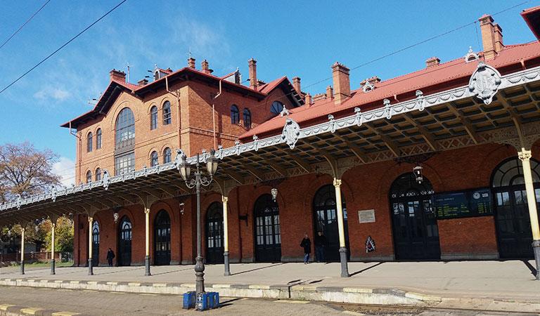 Gara CFR din Suceava
