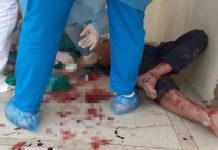 Un individ plin de sânge, fugit din autoizolare, a intrat în Spitalul Hârșova, unde a început să scuipe, să amenințe și să jignească personalul medical