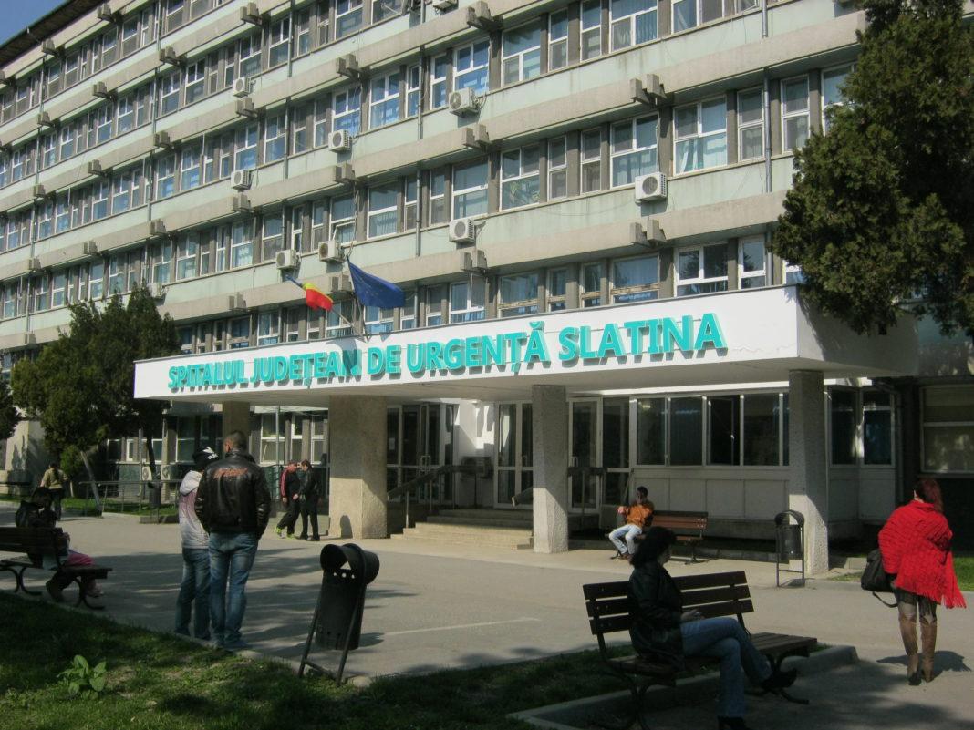 88 de persoane internate în spital cu COVID - 19 în Spitalul Judeţean de Urgenţă Slatina