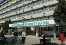 Fermierul a fost transportat la Spitalul Județen de Urgență Slatina în stare critică