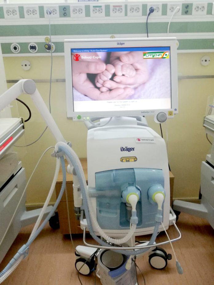 Cinci spitale din București și din țară vor primi, începând de astăzi, aparatură și echipamente medicale indispensabile